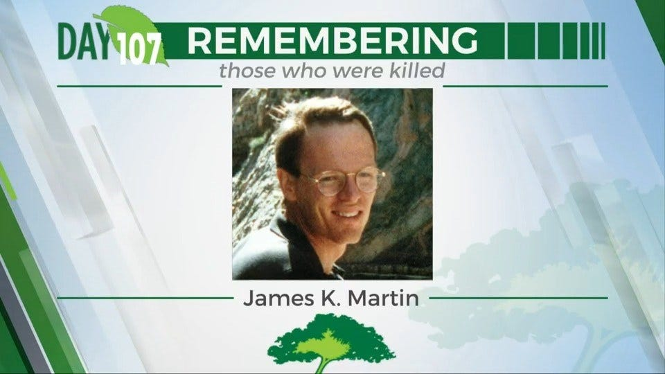 168 Day Campaign: James K. Martin