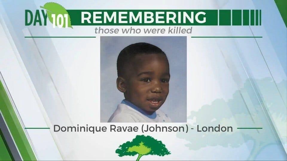 168 Day Campaign: Dominique Ravae (Johnson) - London