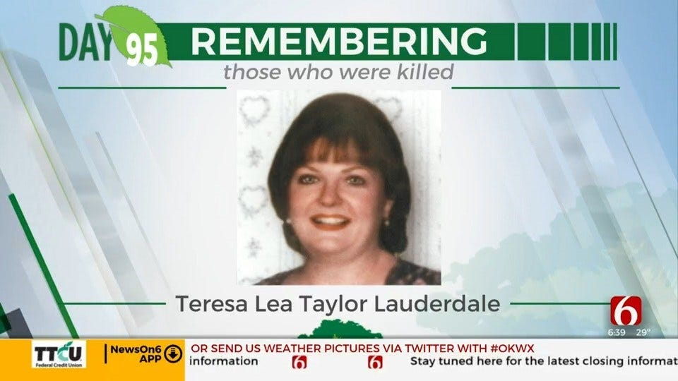 168 Days Campaign: Teresa Lea Taylor Lauderdale