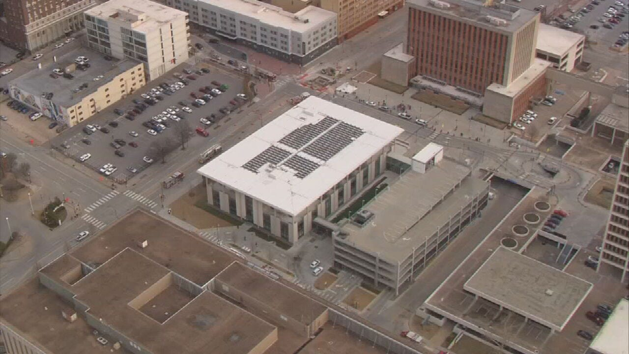 Tulsa Central Library Reopens Part Of First Floor