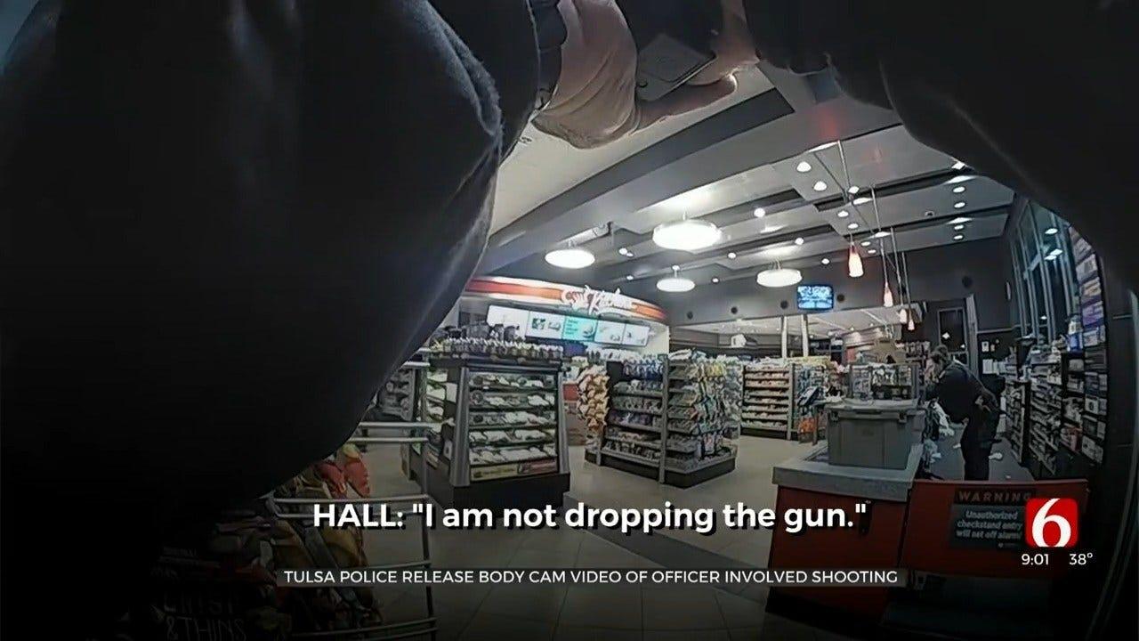 Tulsa Police Release Video Of QuikTrip Shooting