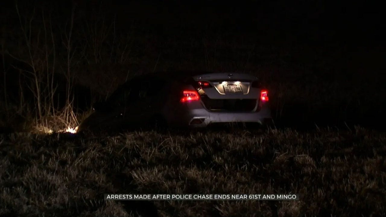 TPD: 2 Teens Arrested Following Police Chase In Stolen Car