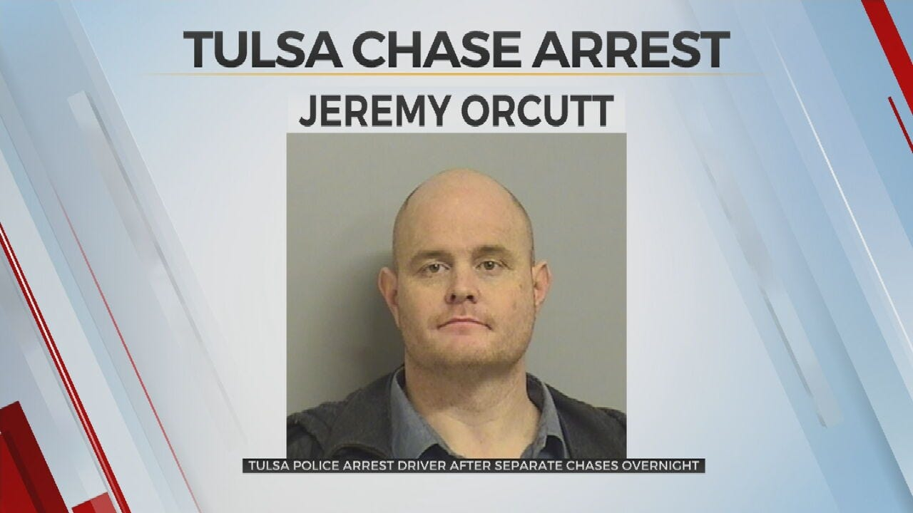Tulsa Police Arrest Man Accused of Leading Officers on 2 Overnight Chases