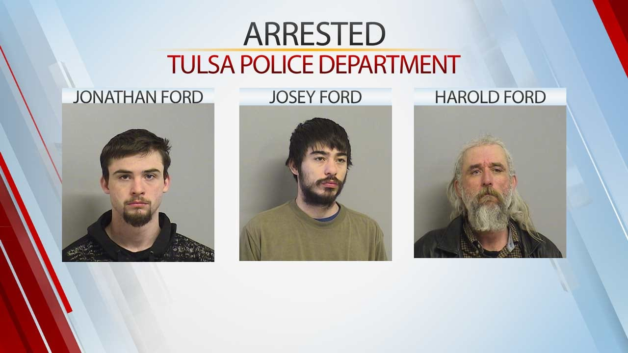 Tulsa Police Arrest 3 Family Members In Stolen Property Investigation