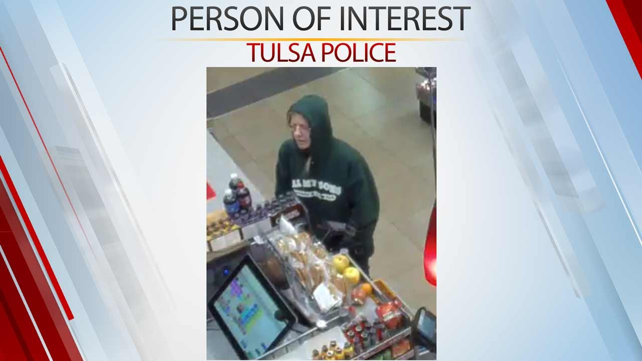 Tulsa Police Searching For Person Of Interest In Stolen Vehicle Case