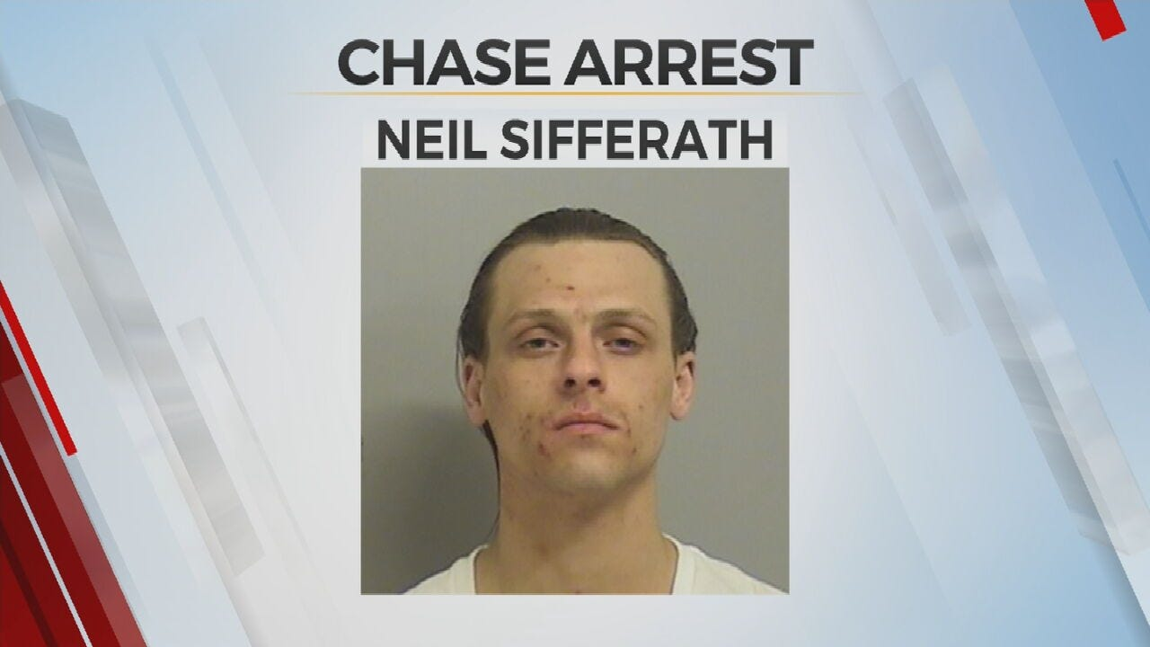 OHP: Man Arrested After Chase Involving Stolen Vehicle