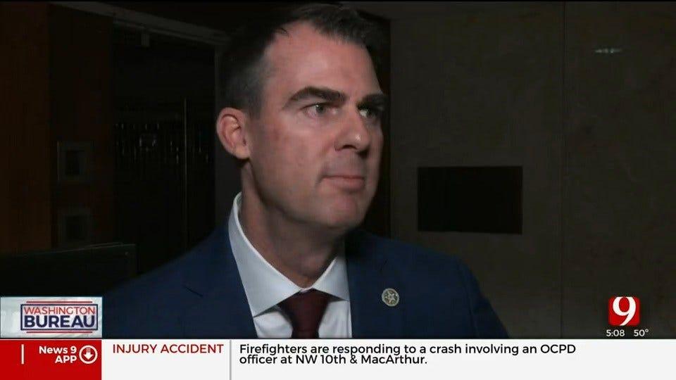 Gov. Stitt Still Plans To Hire Lobbyist To Work In Washington