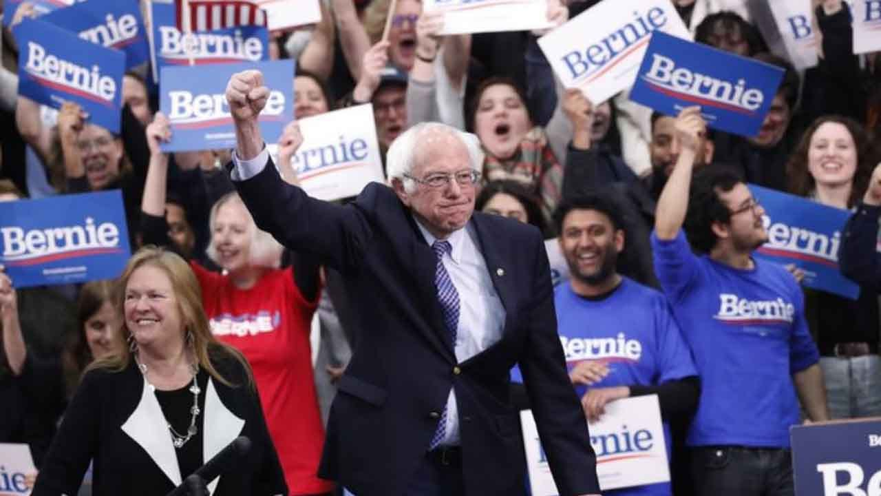 Sanders Edges Buttigieg In NH, Giving Democrats 2 Front-Runners
