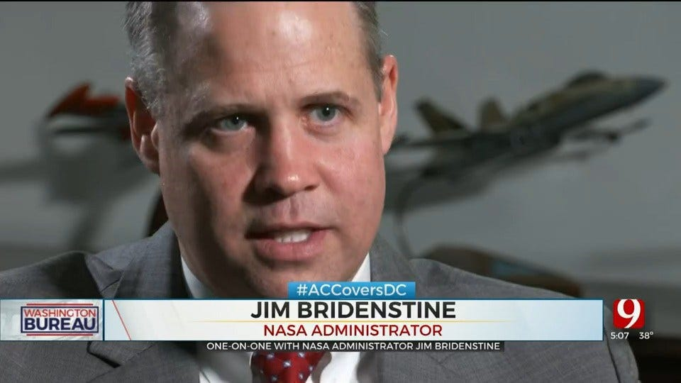 Alex Cameron's One-On-One Interview With NASA Administrator Jim Bridenstine