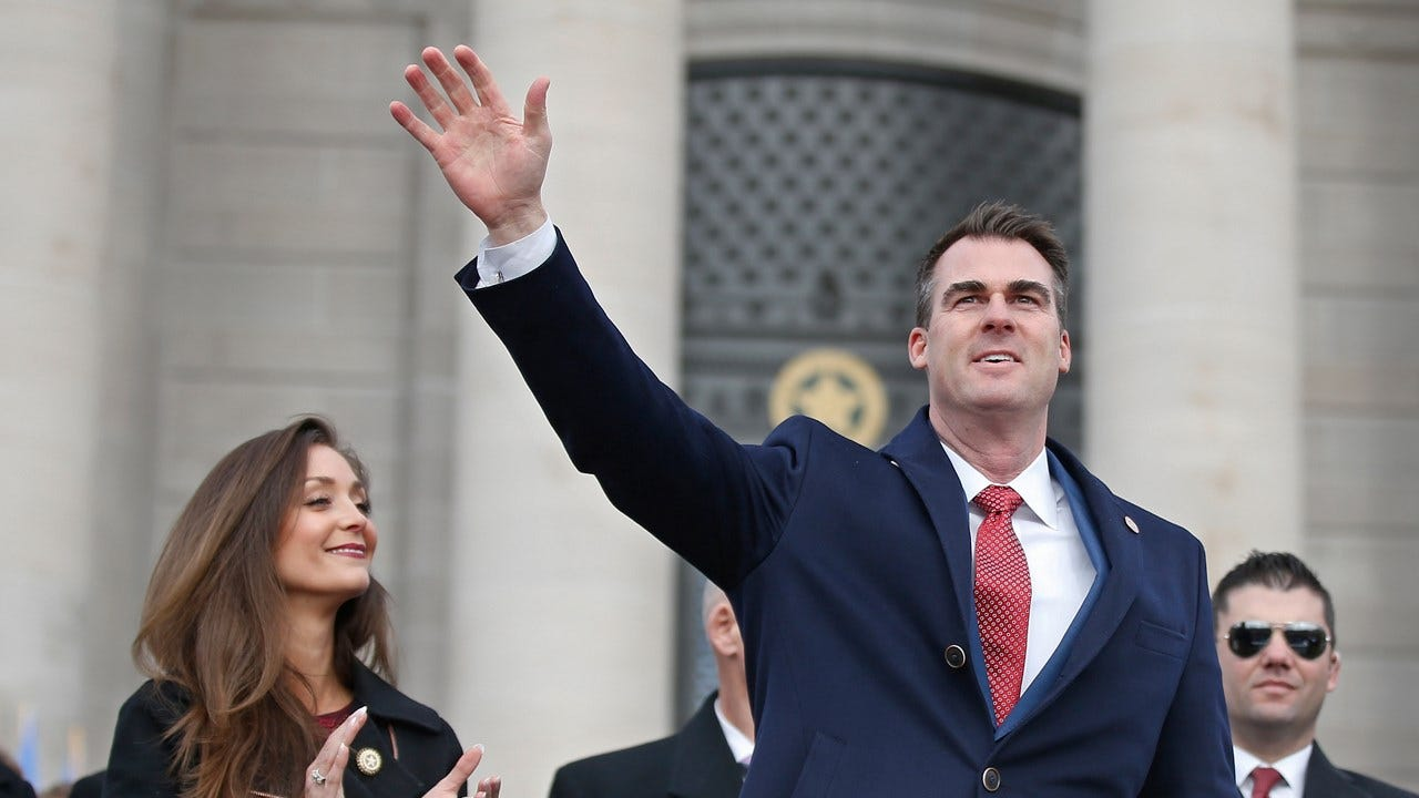 Governor Stitt Outlines Plans For Oklahoma In State Of The State Address