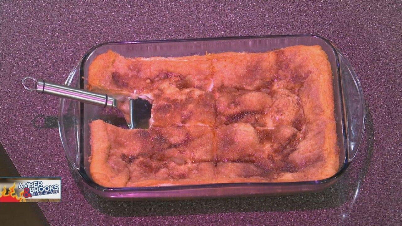 Amber & Brooks In The Kitchen: Sopapilla Cheesecake