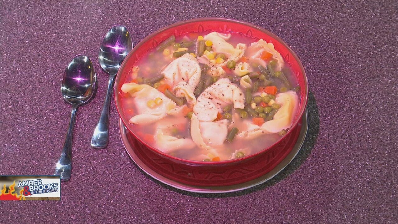 Amber & Brooks: Chicken Noodle Soup With A Twist