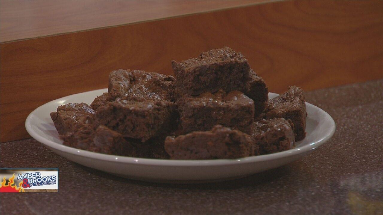 Amber & Brooks: Double Fudge Brownies
