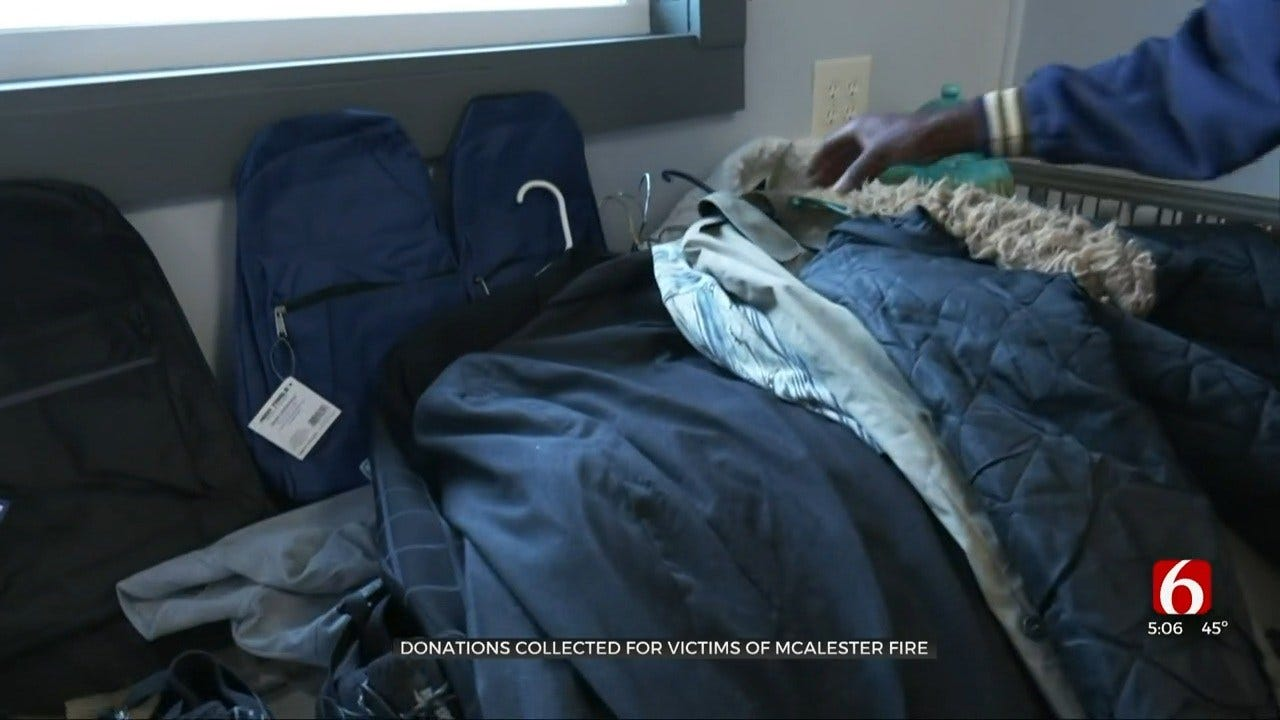 McAlester Business Collecting Donations For Victims Of Recent Fire