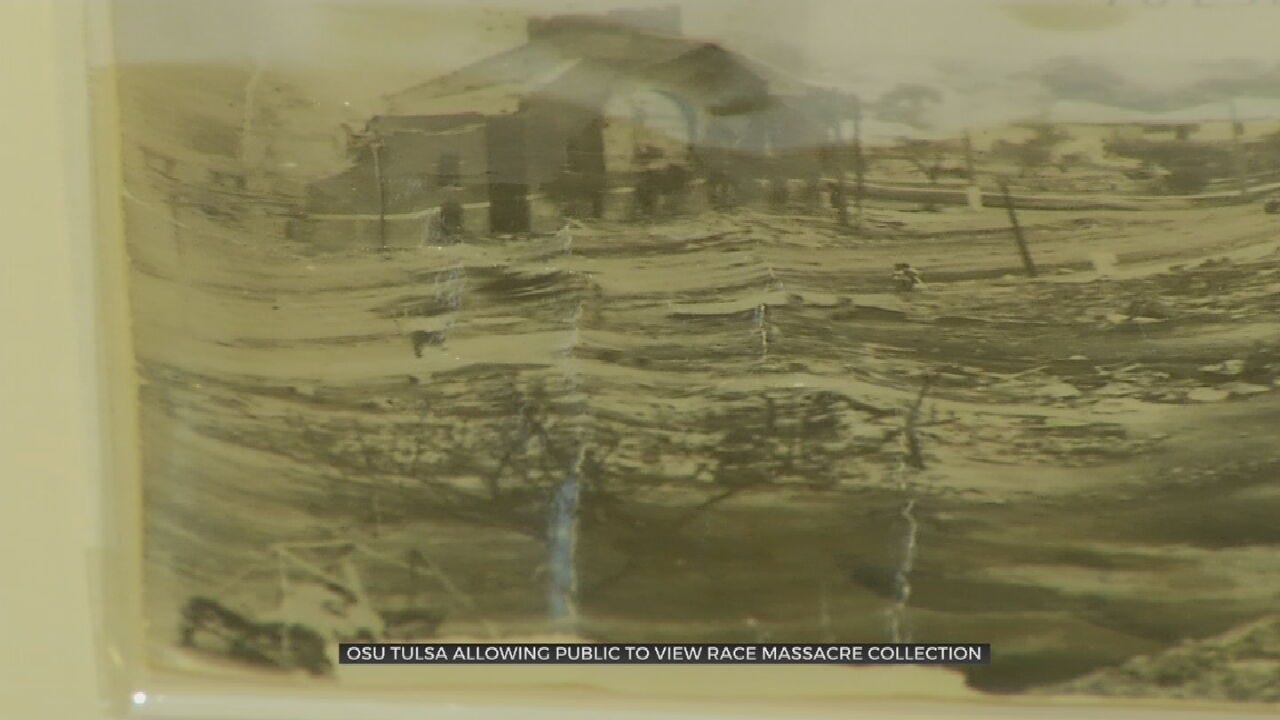 OSU-Tulsa's 1921 Race Massacre Archive Receives National Attention, Opening To Public