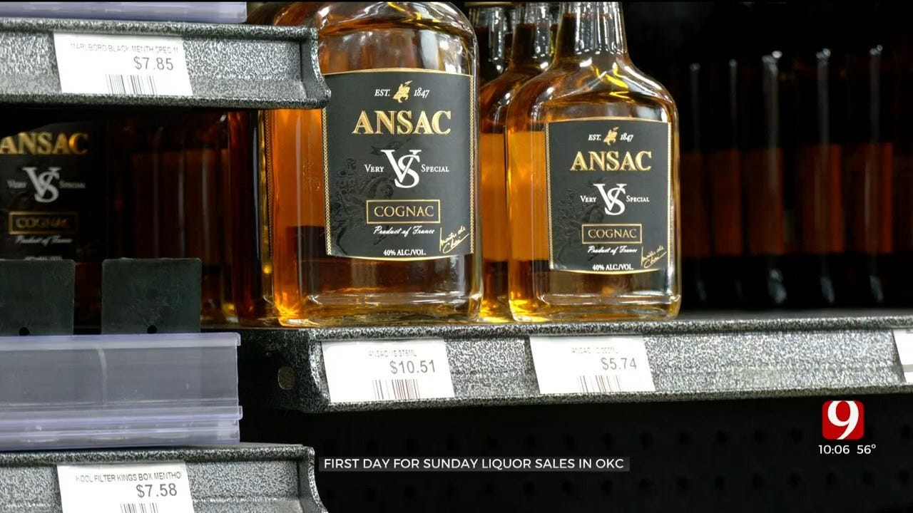First Sunday Of Liquor Sales Go Into Effect In Oklahoma County