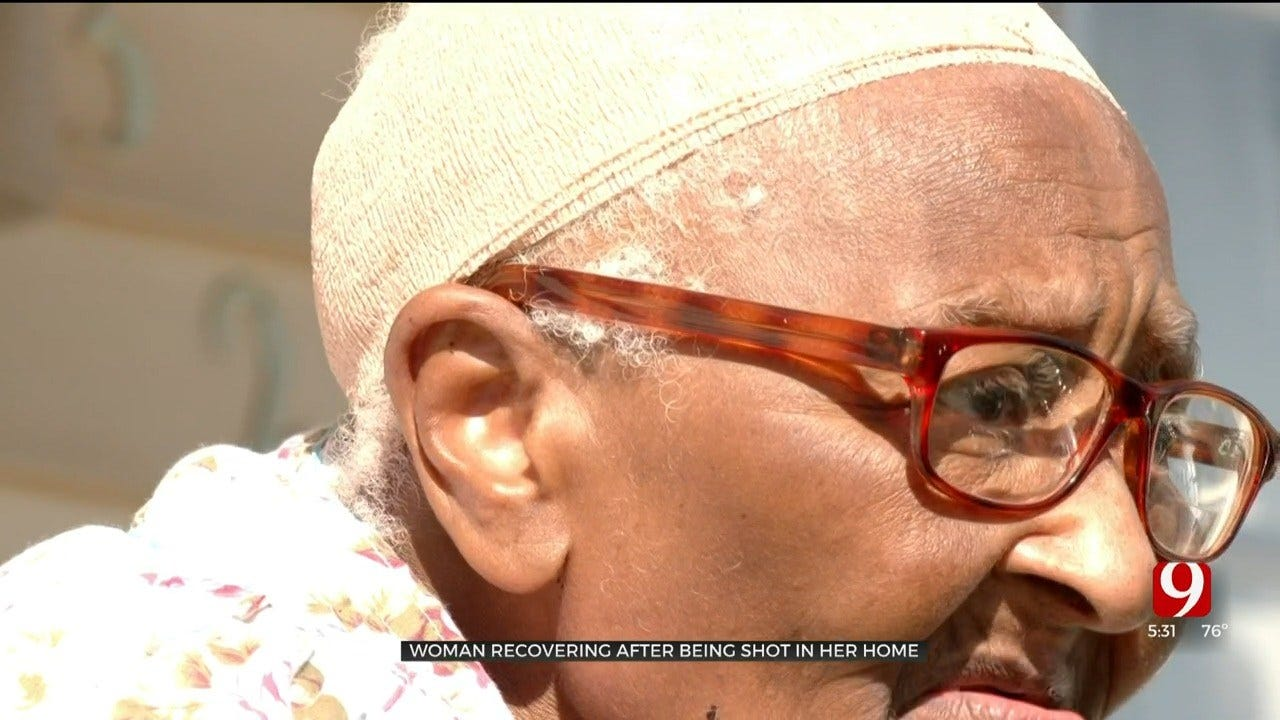 Woman Recovering After Suffering Stray Bullet To Her Head