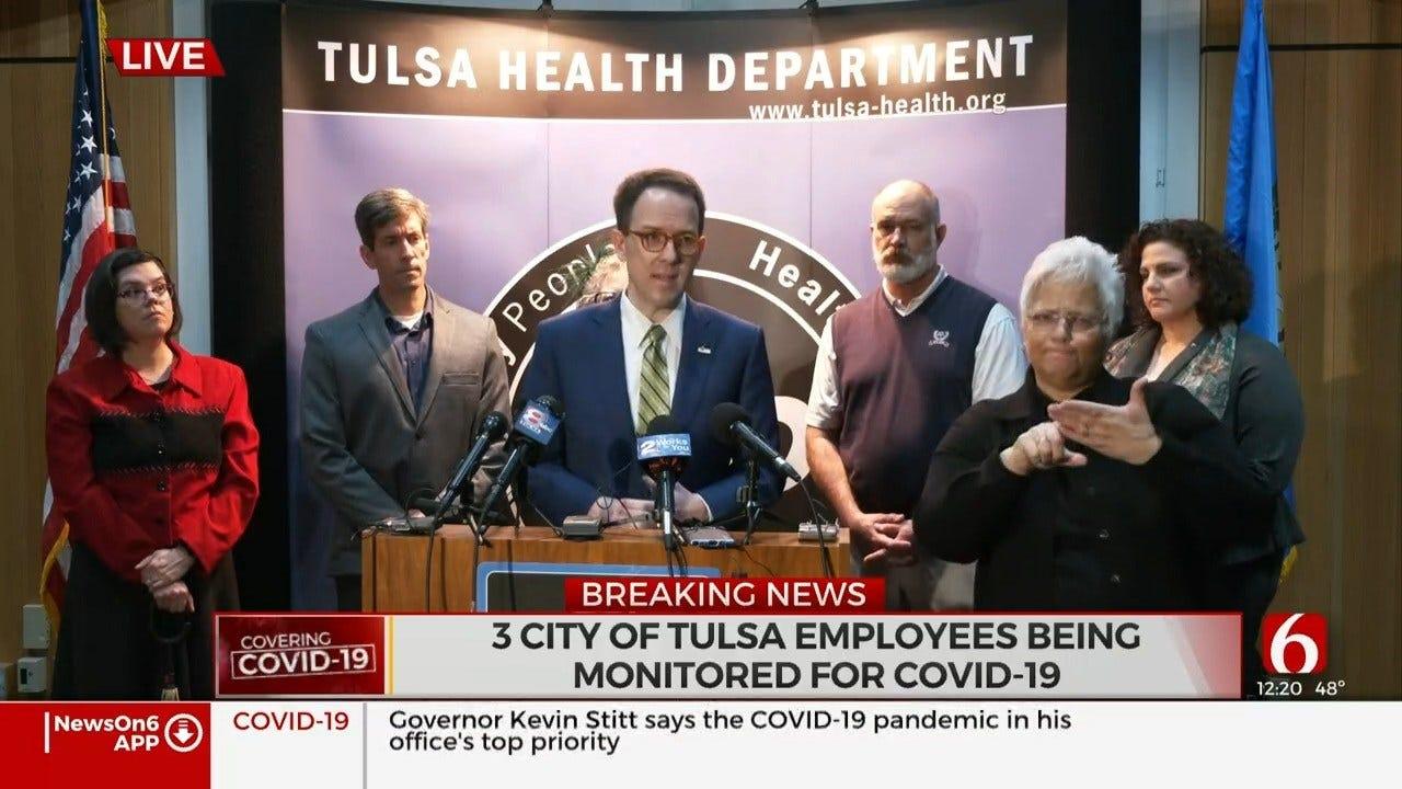 WATCH: Tulsa Health Department Coronavirus (COVID-19) Briefing