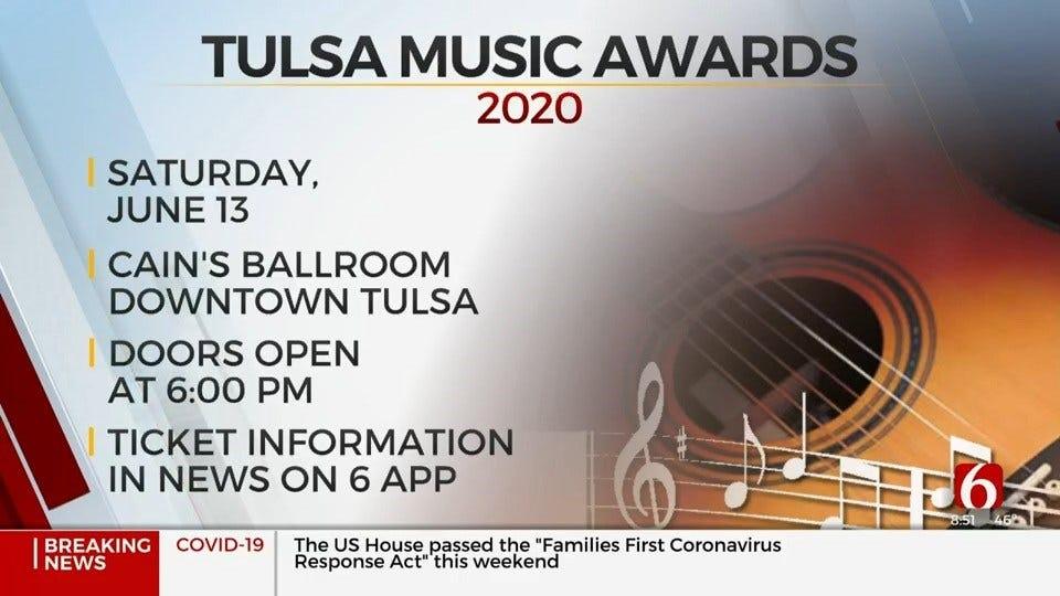 WATCH: Tulsa Music Awards Announces Postponement