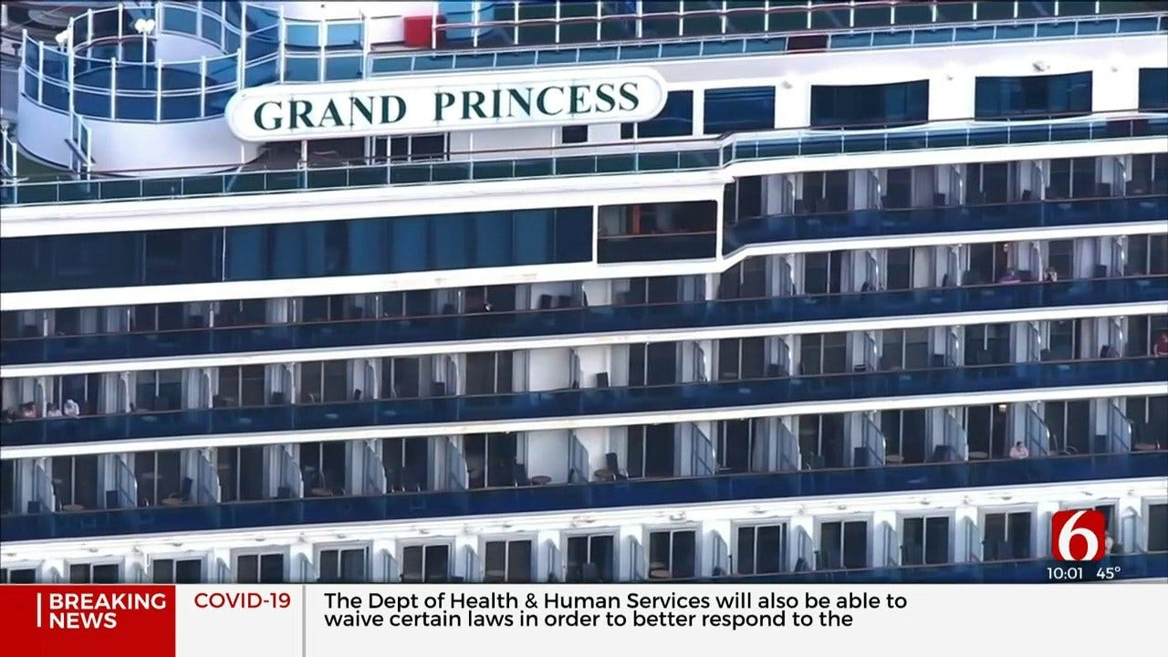 Oklahoma Families Quarantined On Cruise Ship Will Be On Their Way Home