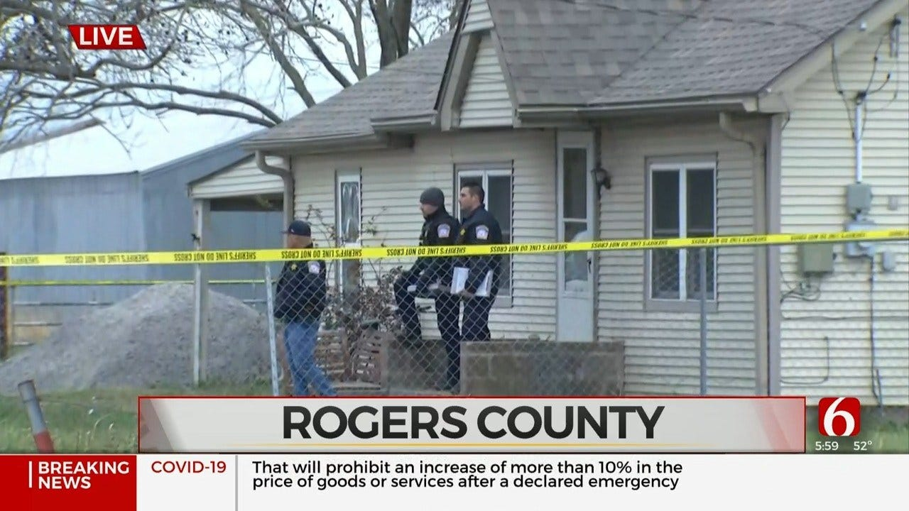 Rogers Co. Sheriff's Office Investigating Officer-Involved Shooting