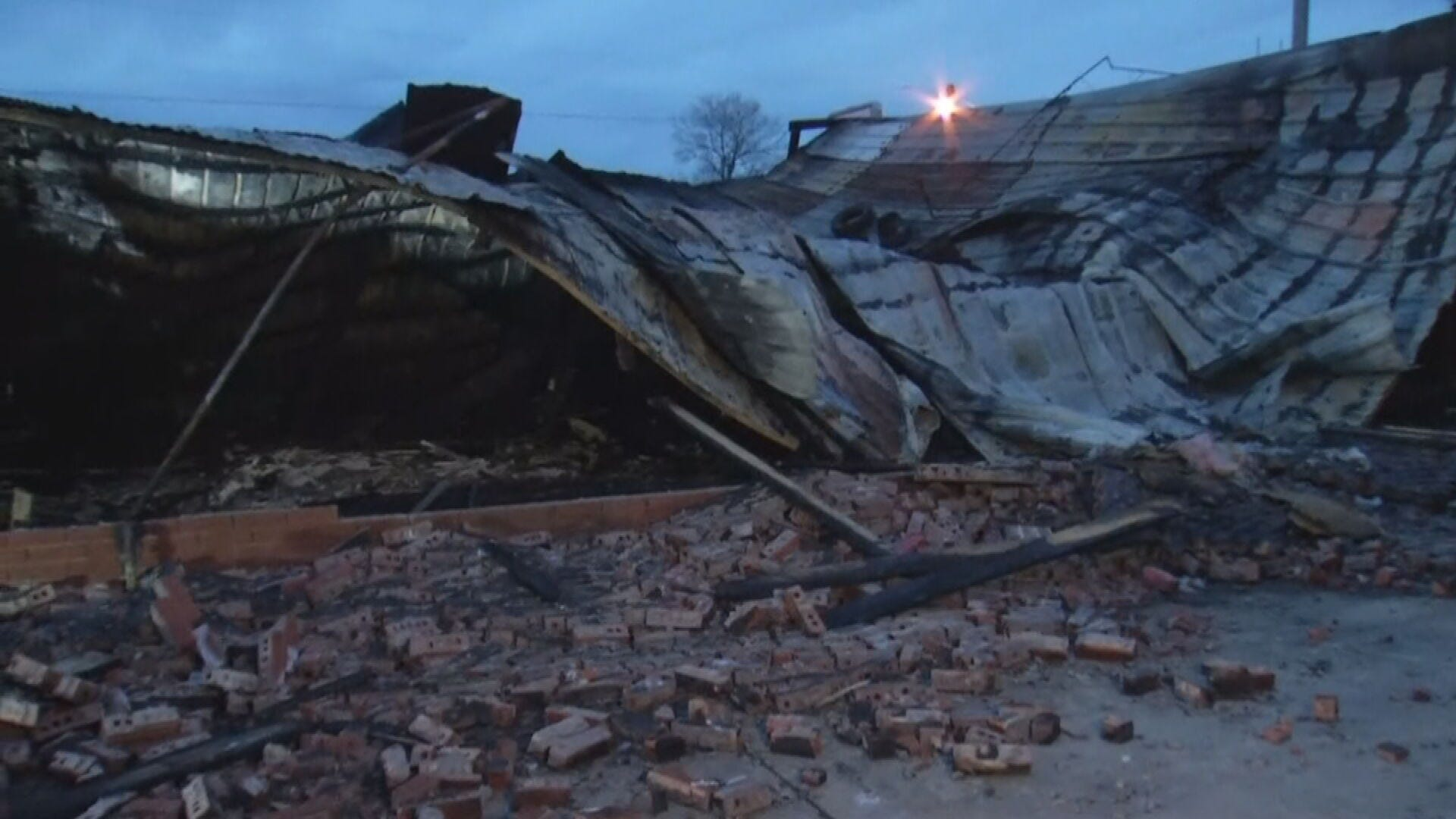 Former Convenience Store Building Total Loss After Fire, Firefighters Say