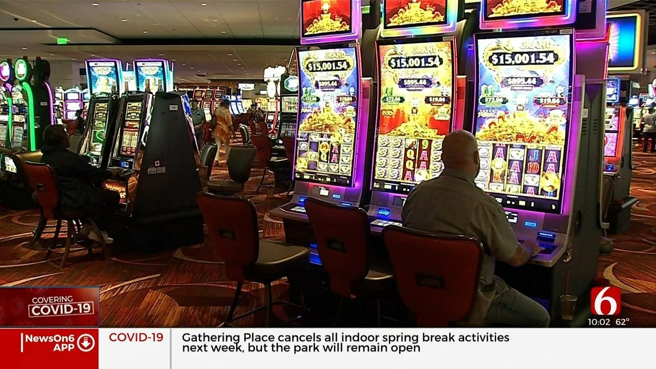 Oklahoma Casinos Not Closing Over COVID-19 Fears For Now