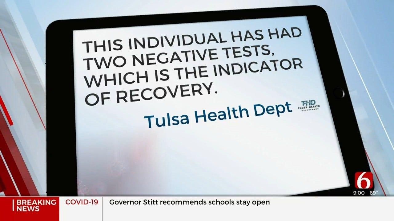 Oklahoma's First Coronavirus (COVID-19) Patient Recovered, Tulsa Health Department Says