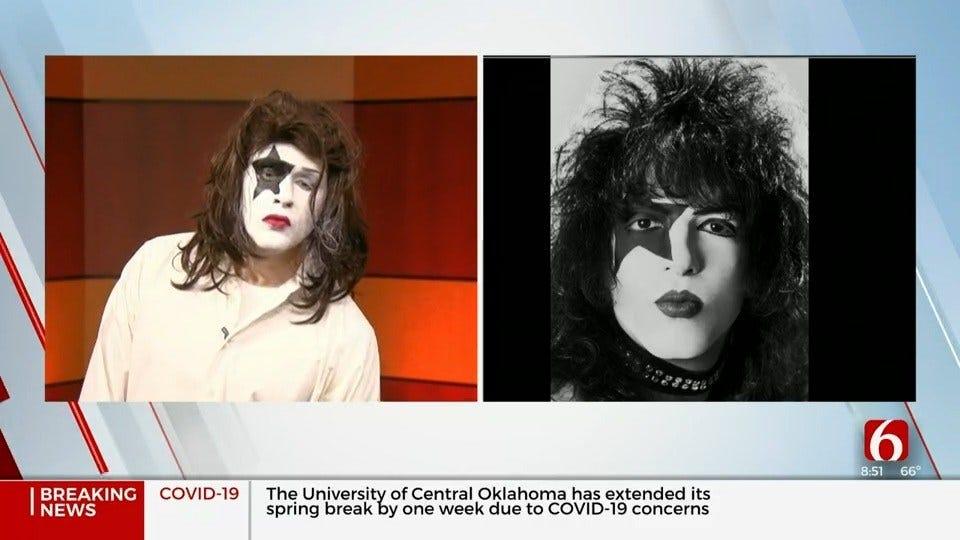 WATCH: News On 6's Dave Davis Impersonates KISS