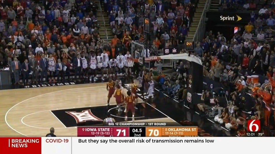 Big 12 Cancels Basketball Tournaments Ahead Of March Madness