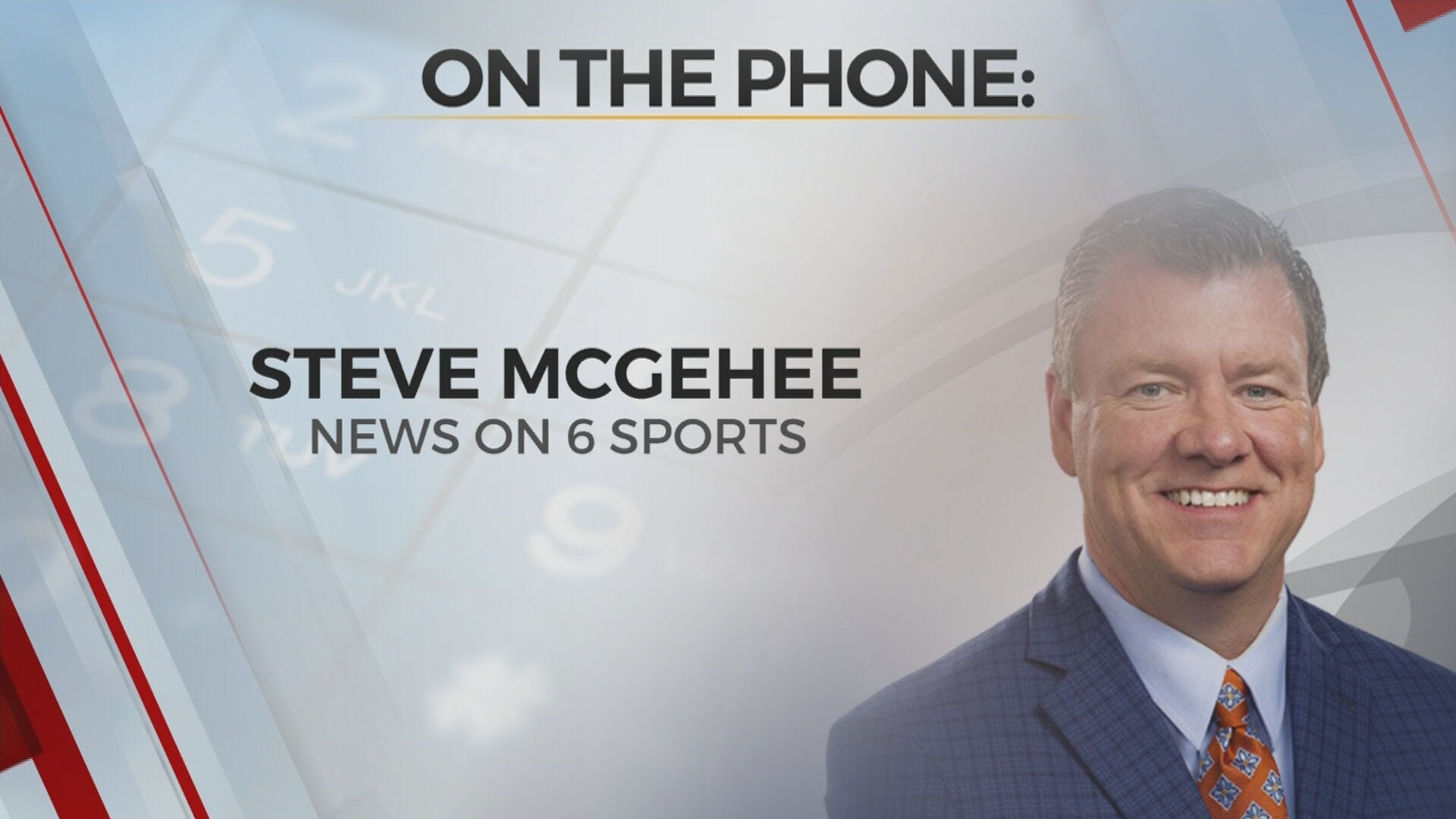 WATCH: News On 6's Steve McGehee Only Local Reporter At Last Night's Thunder, Utah Jazz Game