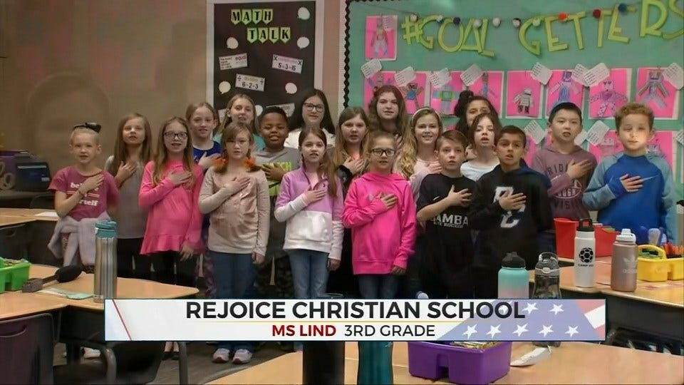 Daily Pledge: Rejoice Christian School