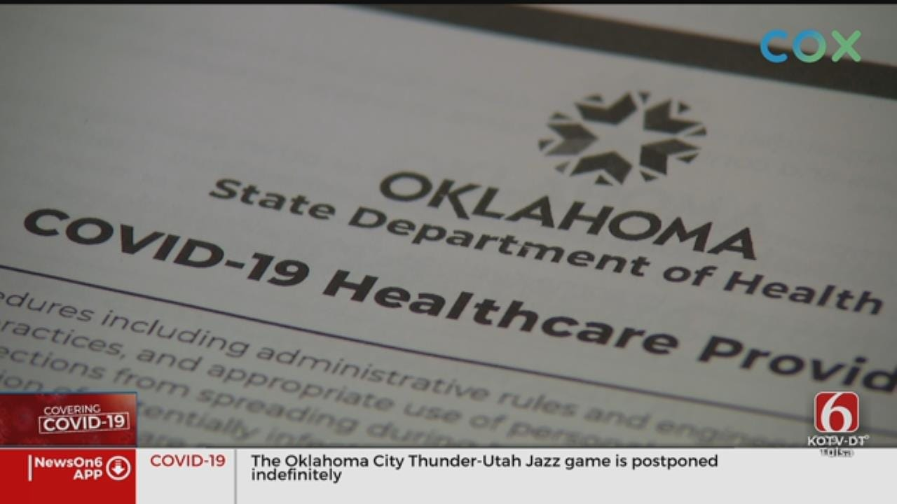 Creek Co. Health Department Holds Meeting To Discuss Coronavirus (COVID-19) Concerns