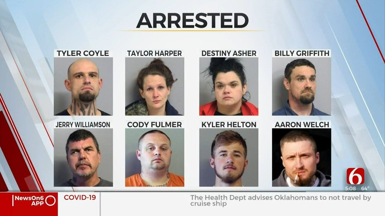 Tulsa Co. Deputies Say They've Never Seen So Many Arrests For 1 Homicide