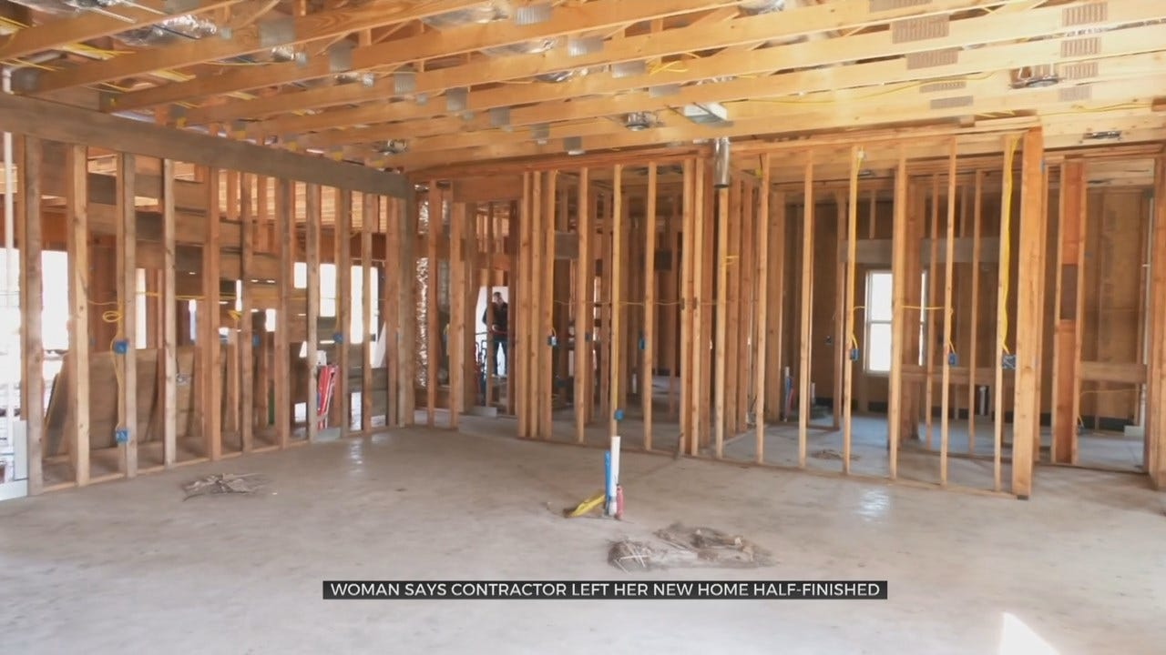 Bixby Veteran Claims Contractor Never Finished Home