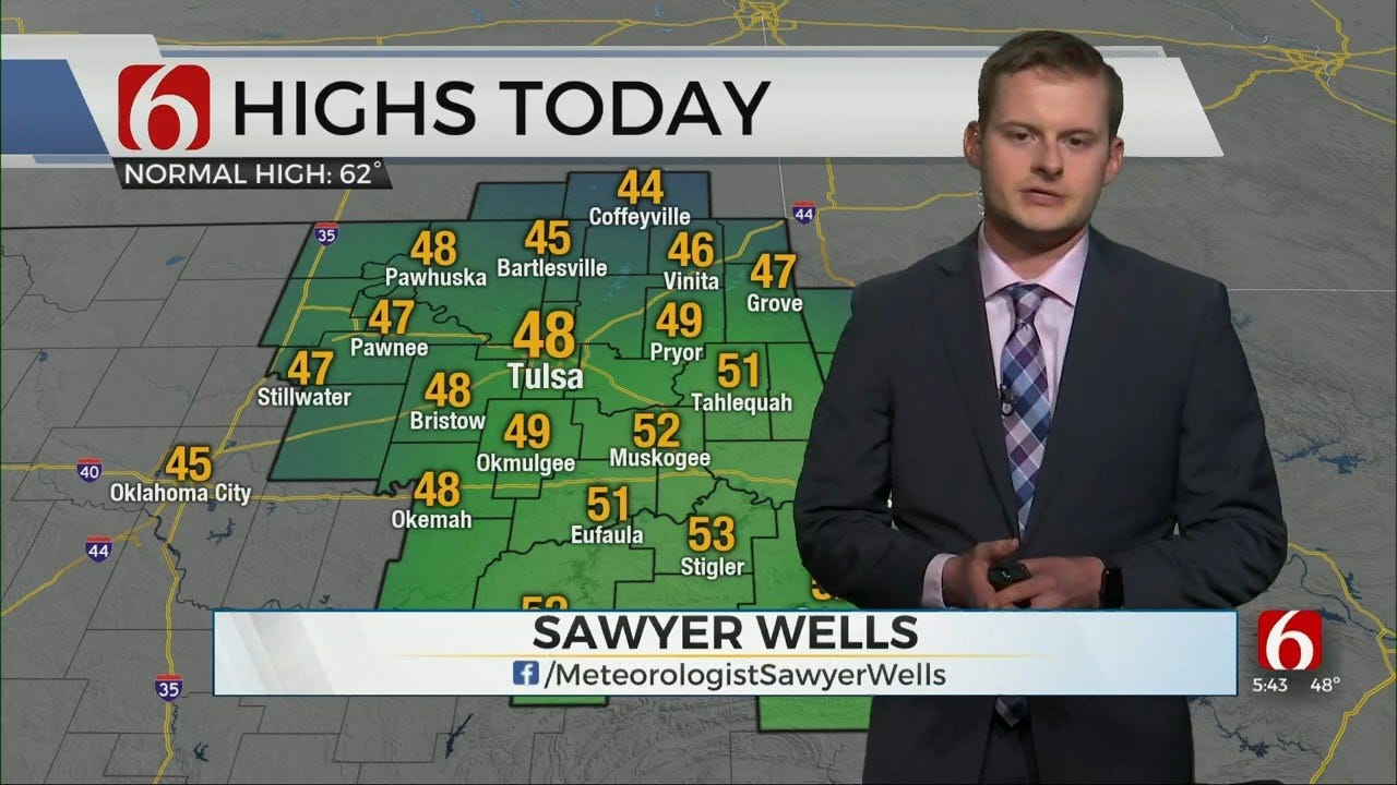 Sunday Evening Forecast With Sawyer Wells