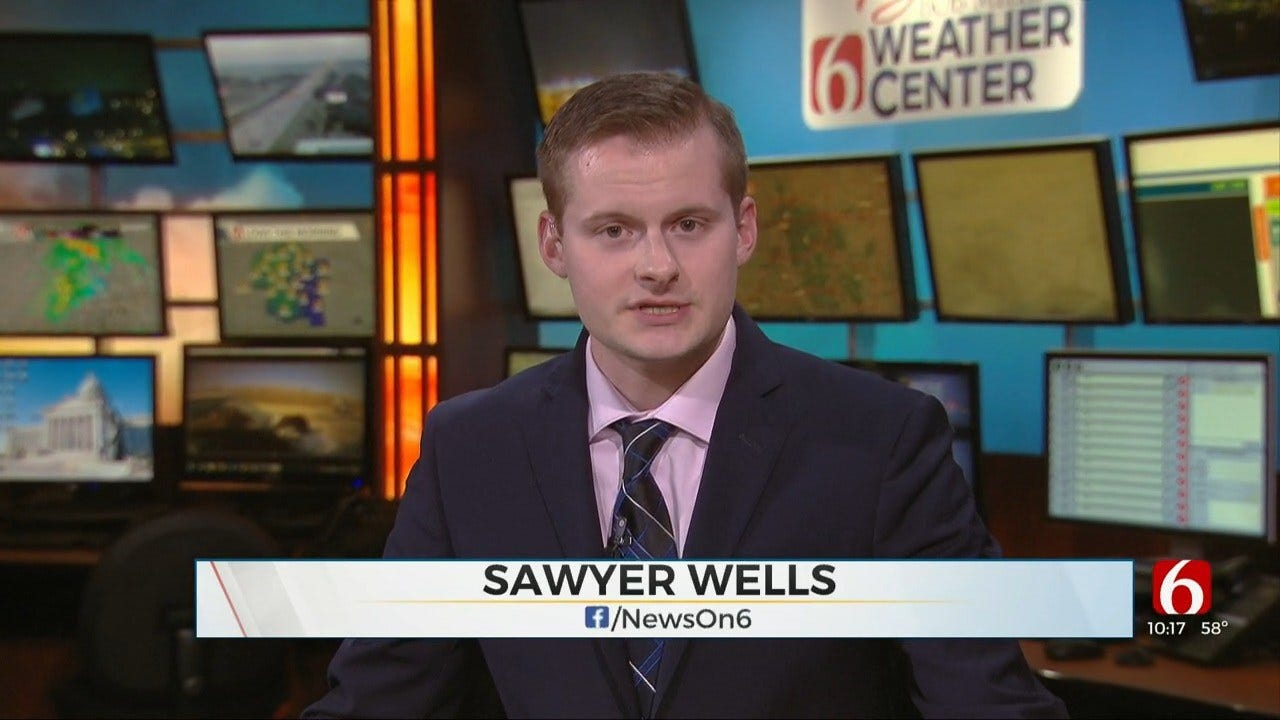 Monday Forecast With Sawyer Wells