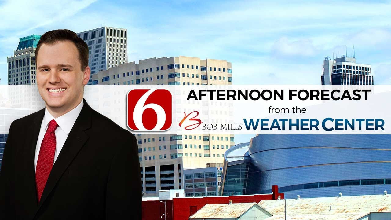 Monday Afternoon Forecast With Stephen Nehrenz