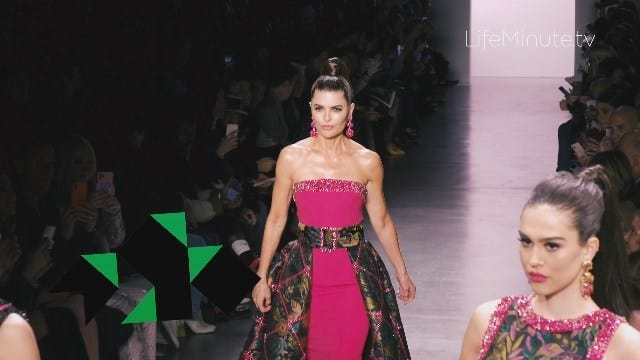 Lisa Rinna and Daughters Delilah and Amelia Hamlin Take the Runway Together at Dennis Basso NYFW Fall 2020