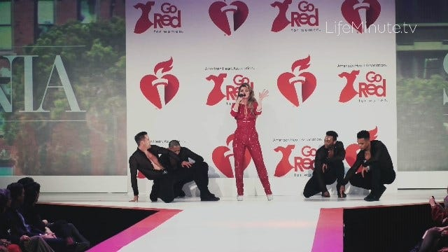 Shania Twain and Meghan Trainor Deliver Red Hot Performances at The 2020 Red Dress Collection