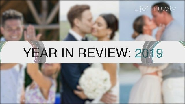 LifeMinute Year in Review: 2019 Celeb Engagements and Marriages