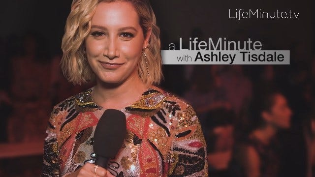 A LifeMinute with Ashley Tisdale