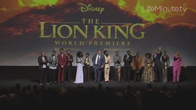 Beyoncé, Donald Glover and More at The Lion King World Premiere