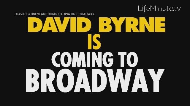 David Byrne Brings His American Utopia Tour to Broadway