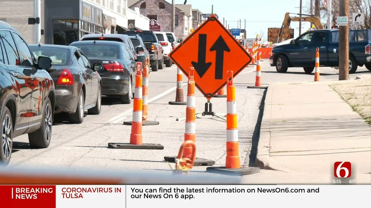 City Of Tulsa: Road Construction Going As Scheduled
