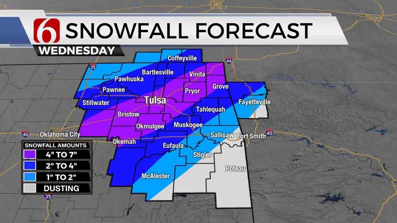 Winter Weather Update With Alan Crone: 4 A.M.