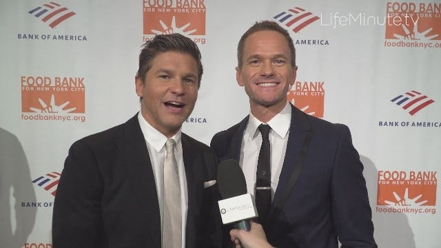 Neil Patrick Harris, Hubby David Burtka and Chef José Andrés Honored at Food Bank for New York City's Can Do Awards 2019