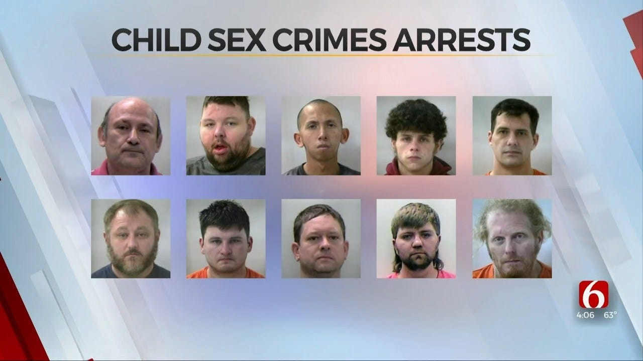 Pawnee County Child Sex Crime Sting Leads To Several Arrests