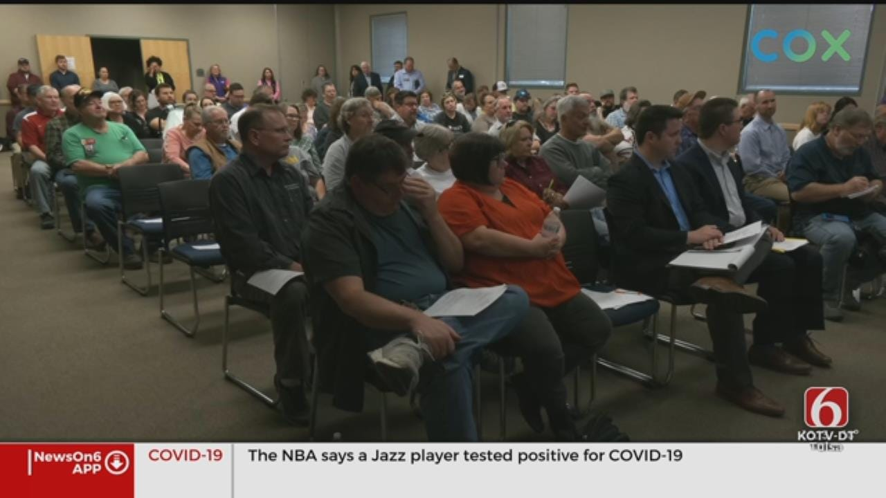 Town and Country Holds First 2020 Meeting After Last Year's Flooding