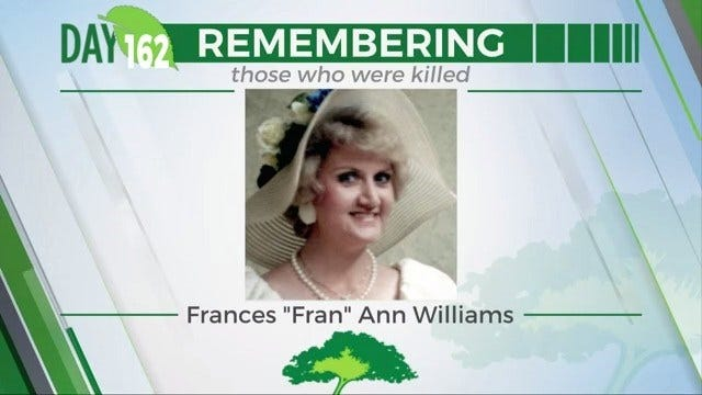 168 Day Campaign: Frances 'Fran' Ann Williams
